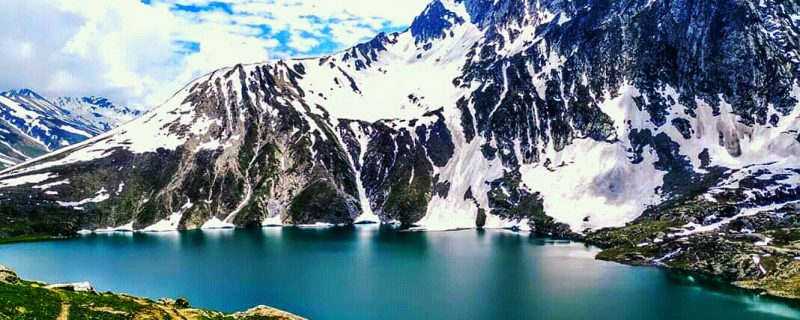Amazing view of Vishansar Lake.